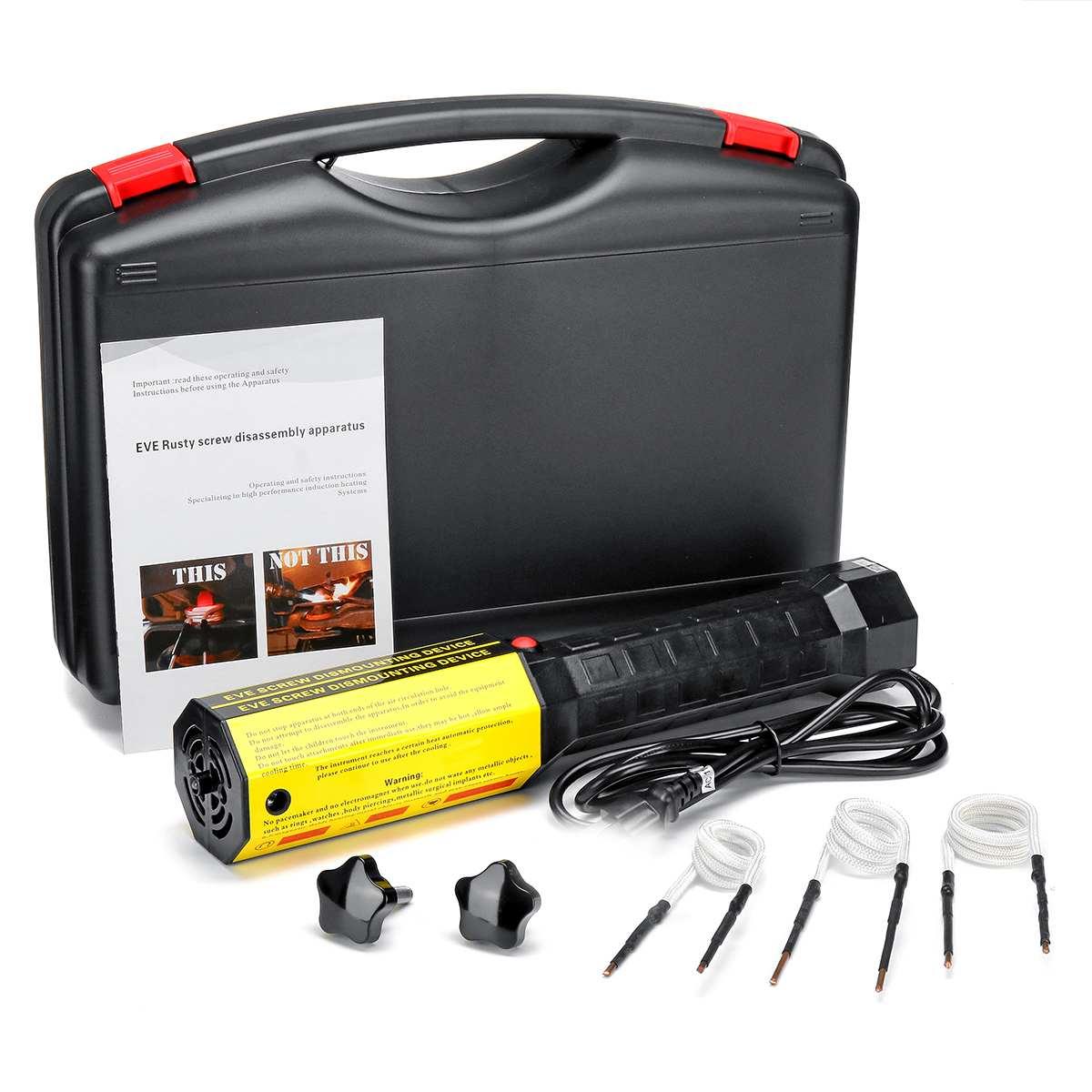 Aquecedor De Indução magnética Calor Especial do Parafuso Parafuso Desmontagem Ferramenta 220 V/110 V Aquecedor de Indução De Aquecimento Kit de Reparo Do Carro ferramenta