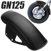 For Suzuki GN125 GN250 1pc Motorcycle Front Fender Dedicated Replacement Mudguard Mud Guard Black Meatal Mayitr