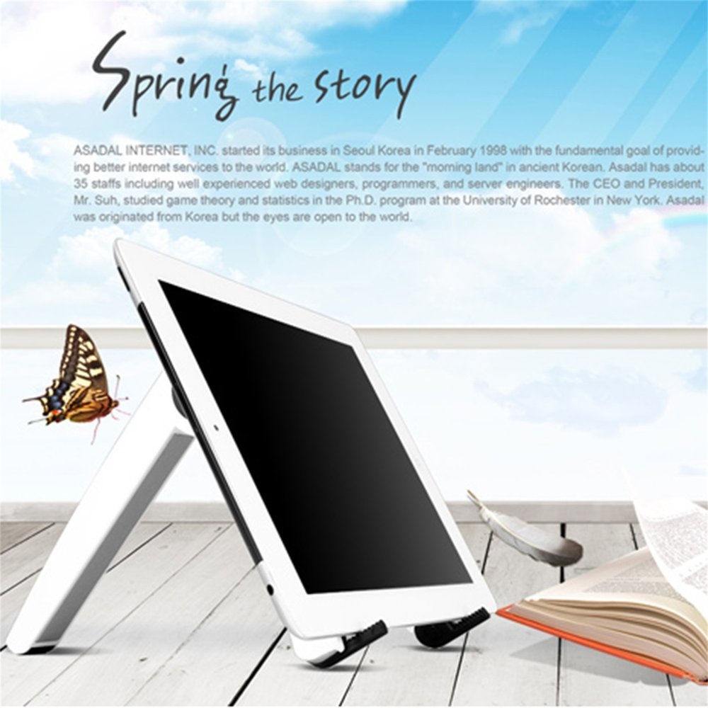 New Folding Laptop Holder Pc Stand With Stretching Legs And Adjusting Angles For 11~16 Inch Computer Notebook Portable Lap Des Desk Set Office & School Supplies
