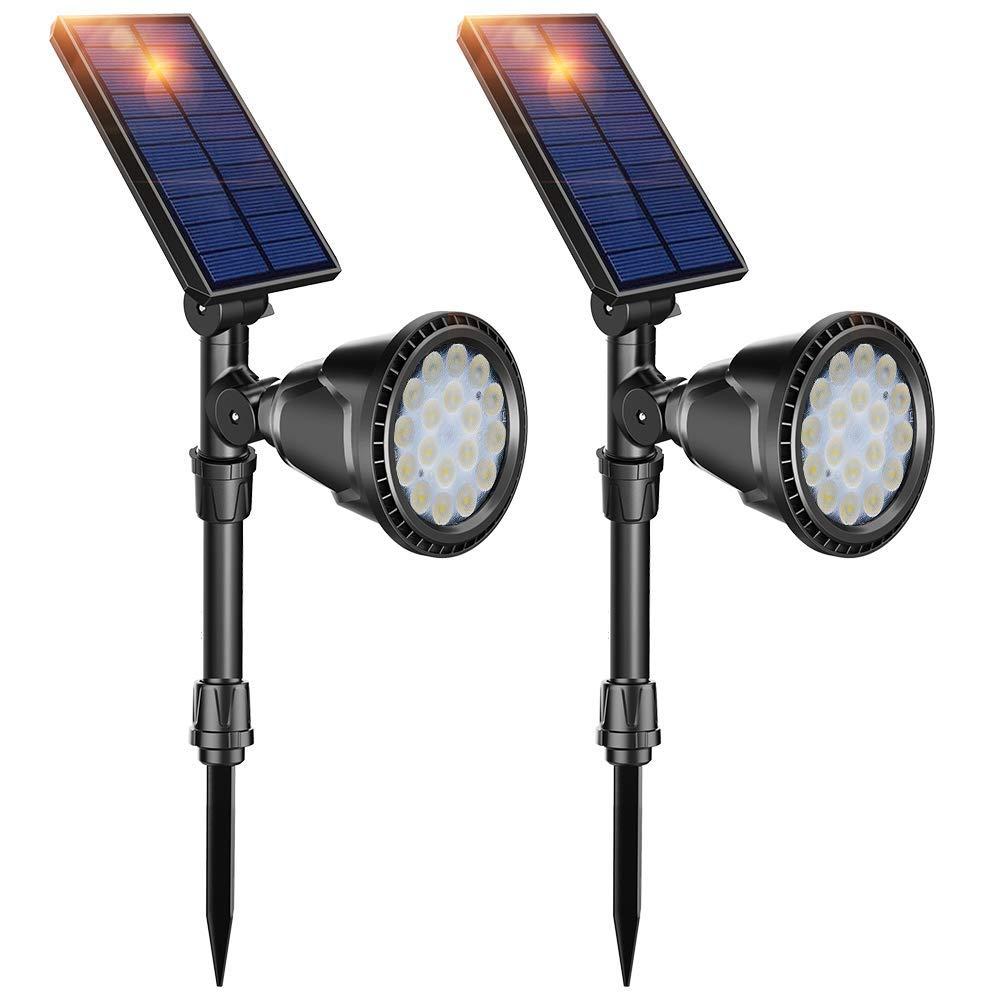 18 LED Ground Light Solar Garden Landscape Light controlled Sensor Spot Light Outdoor Garden Lawn Wall Waterproof Landscape Lamp
