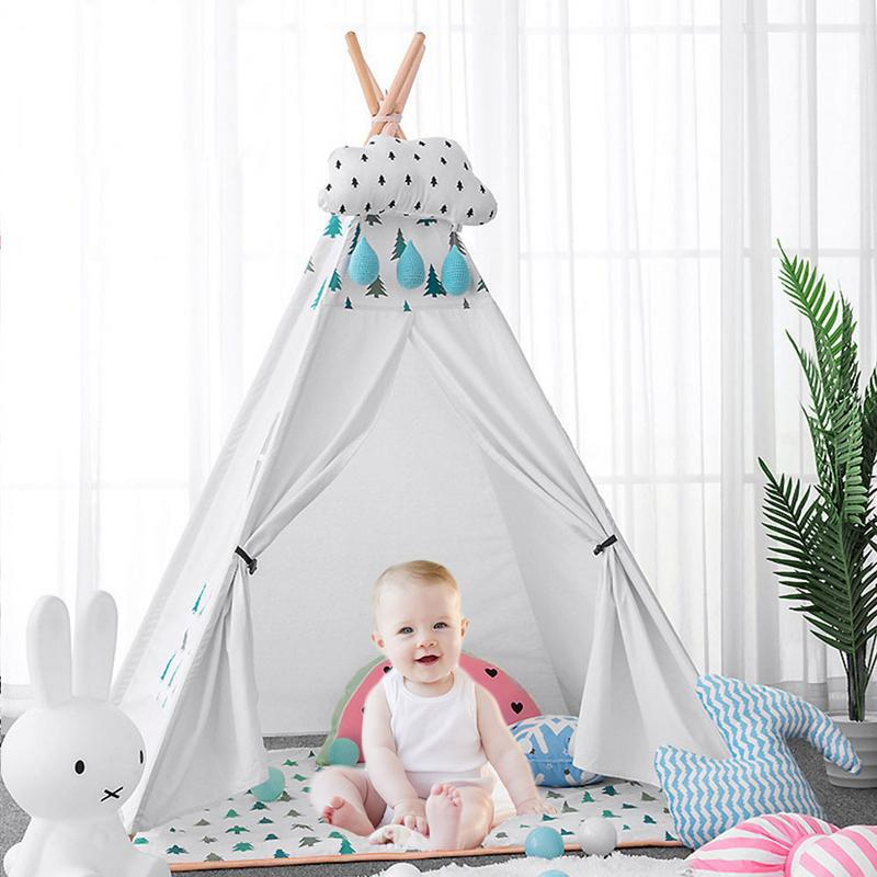 Childrens Tent Portable Folding Indoor Baby Game House India Triangle Tent Childrens Gift For ChildrenChildrens Tent Portable Folding Indoor Baby Game House India Triangle Tent Childrens Gift For Children