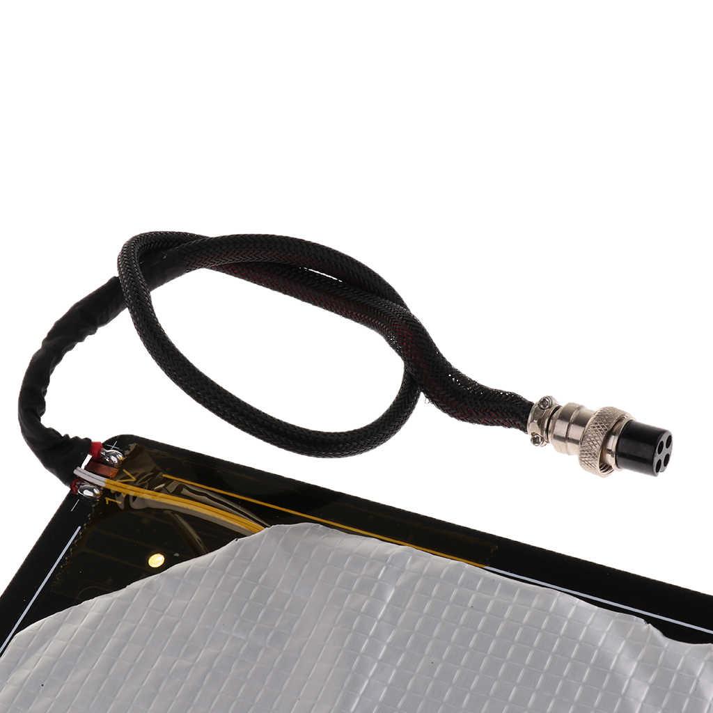 MK3 Air Hangat Tempat Tidur 300*300*3 Mm Aluminium PCB Heatbed Panas Tempat Tidur untuk Creality CR10 3D Printer Panas tempat Tidur Substrat Aluminium Air Hangat Tempat Tidur