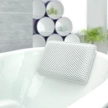 Thicken Bath Pillow PVC Soft Waterproof SPA Headrest Bathtub Pillow With Backrest Suction Cup Neck Cushion Bathroom Accessories(China)