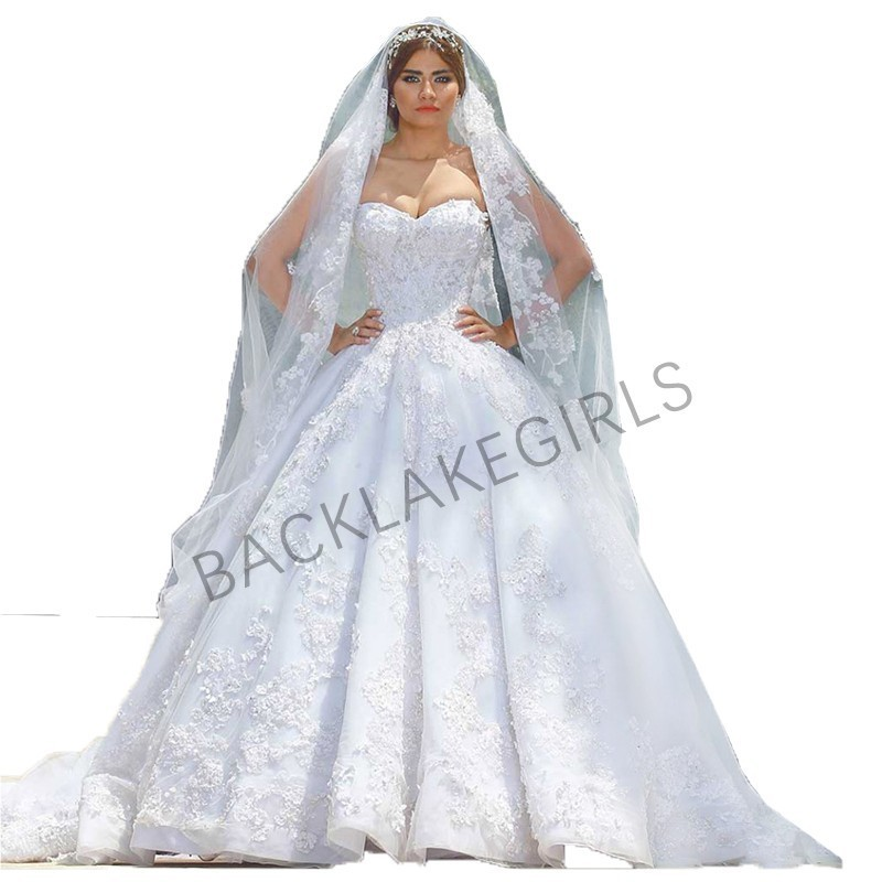 Wedding Ball Gowns Sweetheart Neckline: Gorgeous Vintage Lace Wedding Dress Sweetheart Neckline