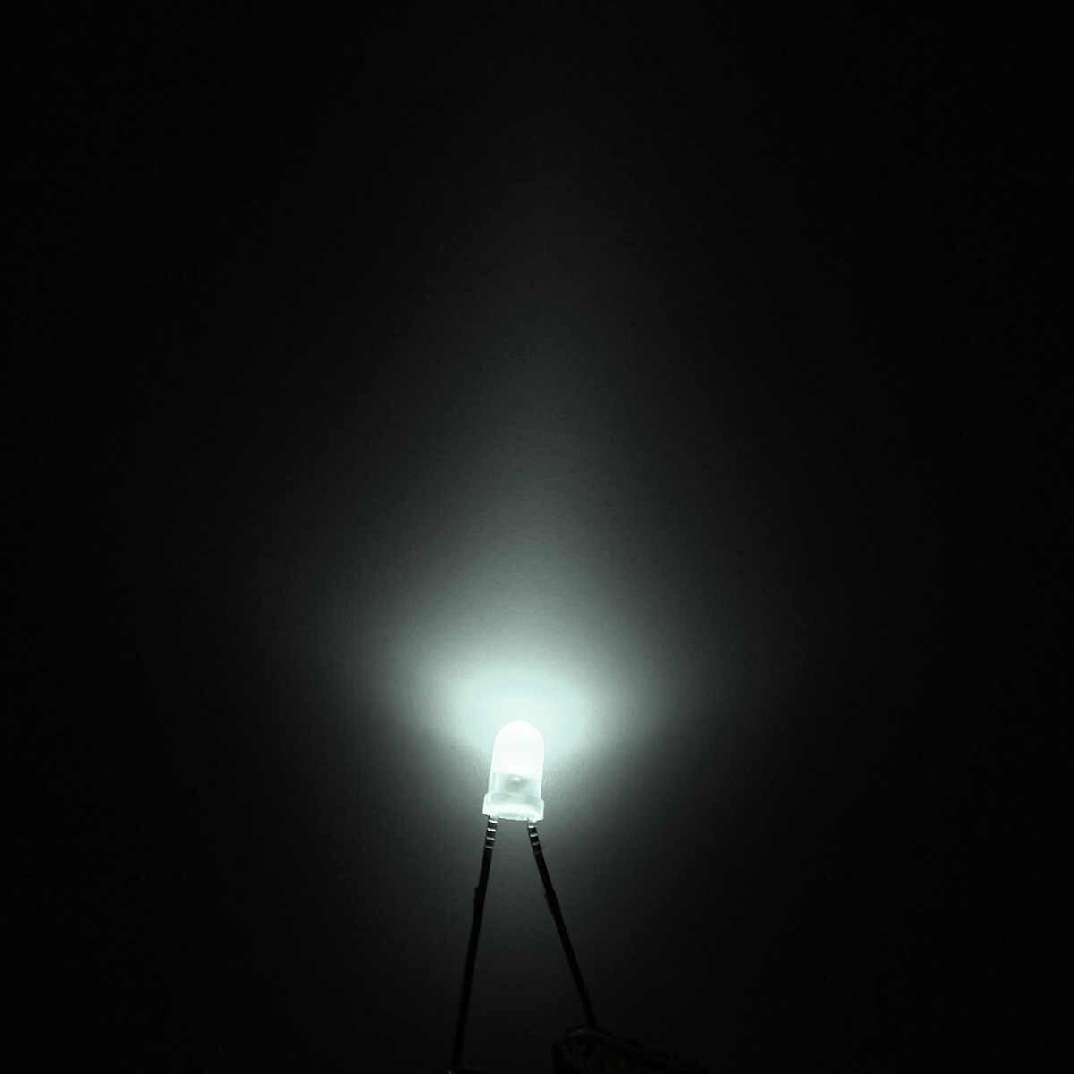 500 Pcs 3mm ultra jasne LED światła lampy diody świecące asortyment części zestaw wygodne dla DIY elektryczne urządzenie diody zestawy