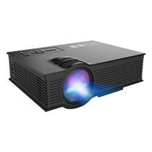 Uc68 театральный мультимедийный проектор 80 Ansi Hd 1080 P видео встроенный Hifi динамик Домашние развлечения поддержка Miracast Airplay(США