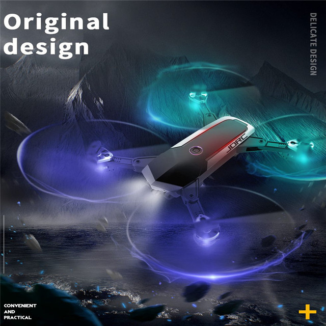 JDRC JD-20S JD20S PRO WiFi FPV Drone w/ 5MP 1080P HD Camera 18mins FlightTime Foldable RC Mini Drone Quadcopter Helicopter RTF 3