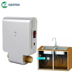 Ozonizador de agua inteligente generador de agua para uso doméstico instalación de tuberías de agua fría