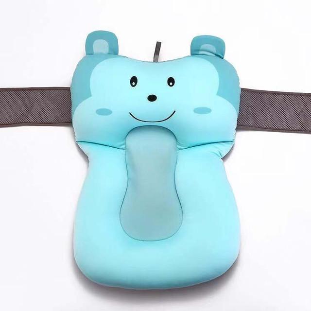 1pc Portable Non-Slip Baby Bath Pad Bath Tub Air Cushion