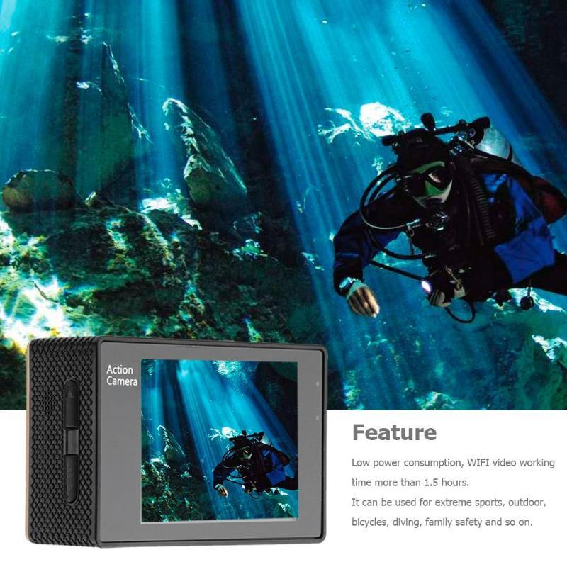 Neue F60r 4 K Wifi Remote Action Kamera 1080 P Hd 16mp 170 Grad Weitwinkel 30 M Wasserdichte Sport Dv Kamera Für Gopro Förderung Sport & Action-videokameras