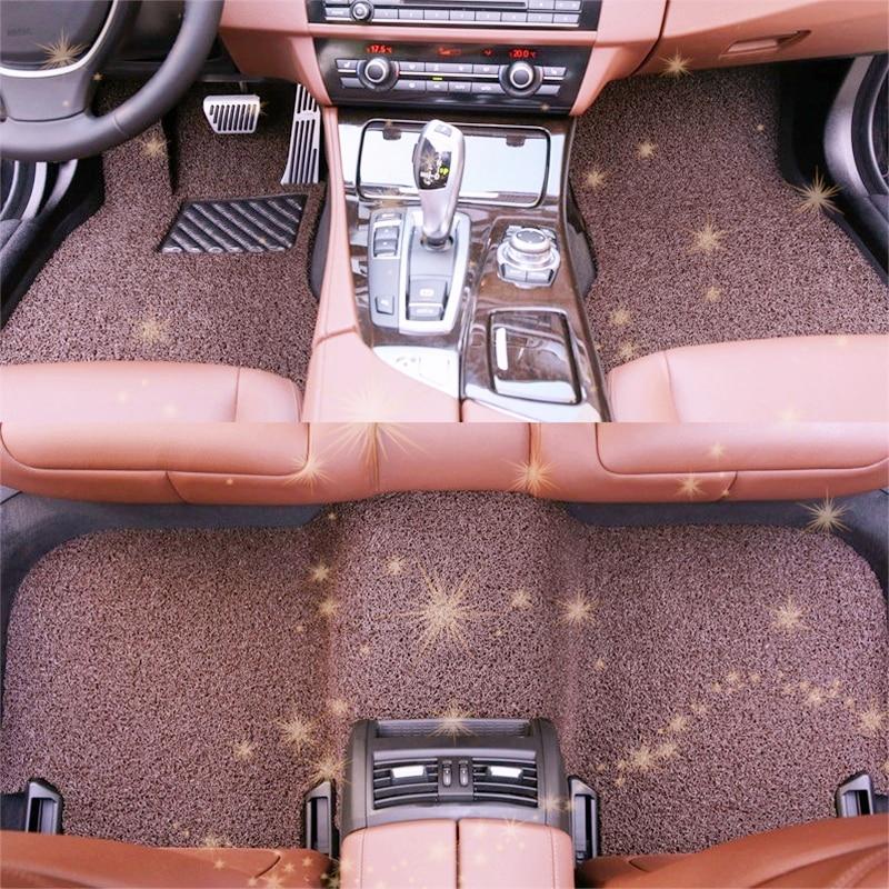Modified Automobile Styling Auto Decoration Accessory Interior Decorative Parts Carpet Car Floor Mats FOR Hyundai Rohens Coupe