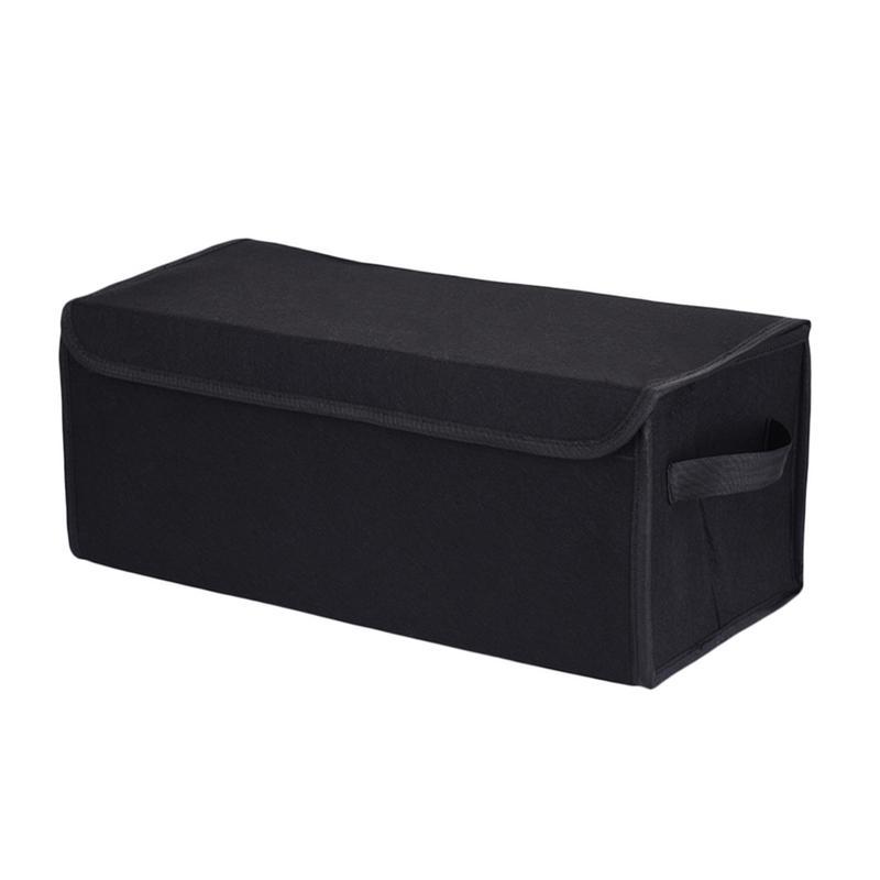 Car Trunk Organizer Adjustable Backseat Storage Bag Net High Capacity Multi-use Felt Cloth Automobile Seat Back Organizers