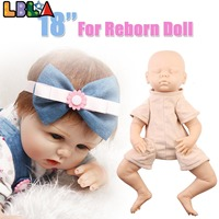 18 Inch DIY Model Kit Arms and Full Legs Silicone Vinyl Reborn Doll Kit Accessories Realistic Baby DIY Reborn Toys for Christmas