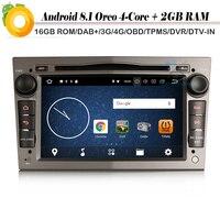 DAB+Car Stereo Android 8.1 Car Multimedia Player WiFi 4G GPS Radio FOR OPEL Vauxhall Corsa C/D Vectra Zafira Astra Vivaro Meriva