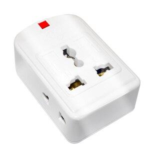 Image 4 - Us/Eu/Uk/Au/Cn Plug 10A 250V Power Strip Elektrische Universele Extension Socket Wireable adapter Voor Office Home Netwerk Filter