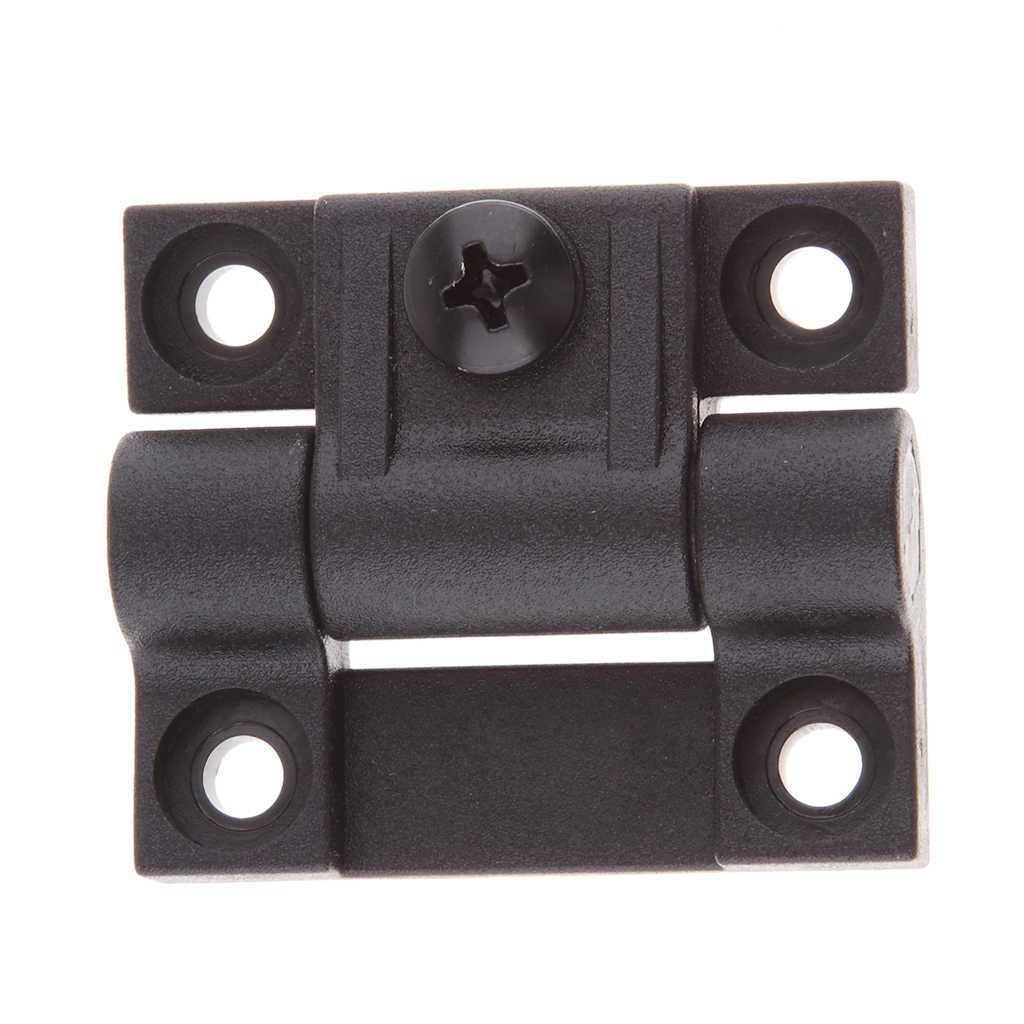 4 Hole Adjustable Torque Hinge 8x Replaces for Southco E6-10-301-20 Black