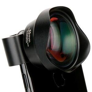 Image 4 - Мобильный телефон Pholes 2x телеобъектив 4k Hd телеобъектив портретный объектив камера зажим для линз на объектив для Iphone 8 7 X Plus S8 S9