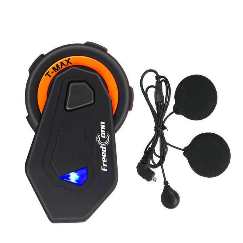 Moto Casque casque intercom Bluetooth Interphone Cristal Voix Claire Qualité Recevoir Un téléphone portable Appel Automatiquement