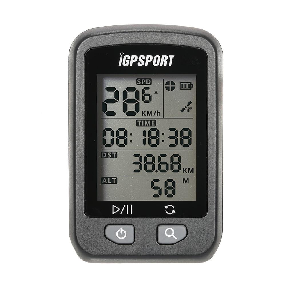 IGPSPORT GPS Vélo Ordinateur de Vélo Compteur De Vitesse Ordinateur de Sport Étanche IPX6 Sans Fil Vélo Compteur De Vitesse Numérique Chronomètre