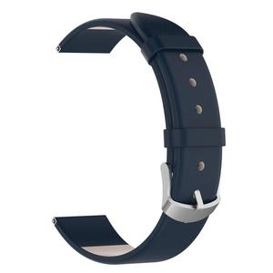 Image 2 - Wrist Belt Bracelet 20MM Genuine Leather Replacement Breathable Lightweight Durable Watch Band Straps Long Lasting For Garmin
