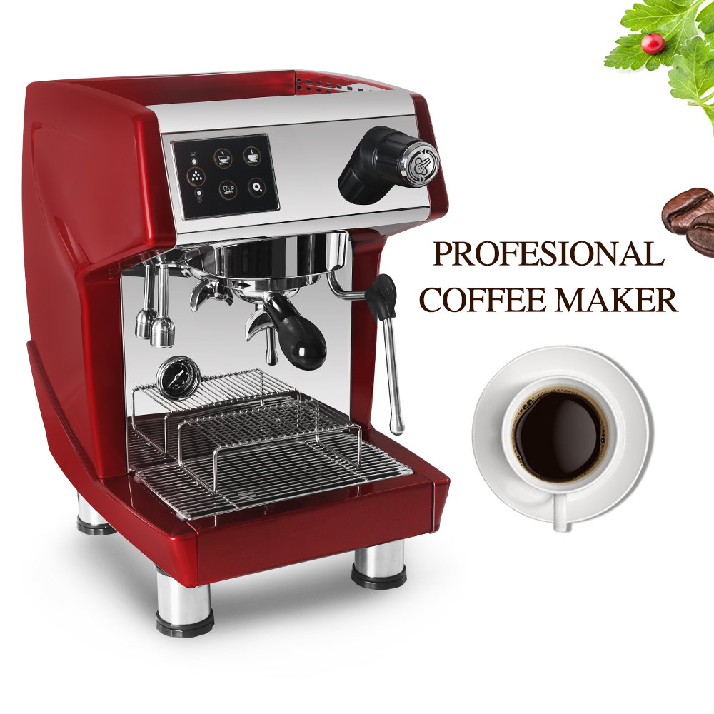 ITOP 1.7L Commercial Coffee Maker Italian Espresso Semi-automatic Steam Type Machine 220V