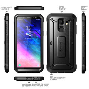 """Image 4 - SUPCASE For Samsung Galaxy A6 2018 Case 5.6"""" UB Pro Full Body Rugged Holster Case with Built in Screen Protector,NOT Fit A6 Plus"""