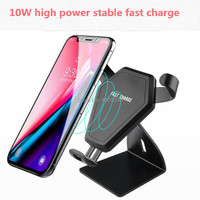 Qi Car Wireless Charger Phone Holder for skoda octavia bmw f10 nissan qashqai j11 toyota chr tiguan 2017 renault megane 3