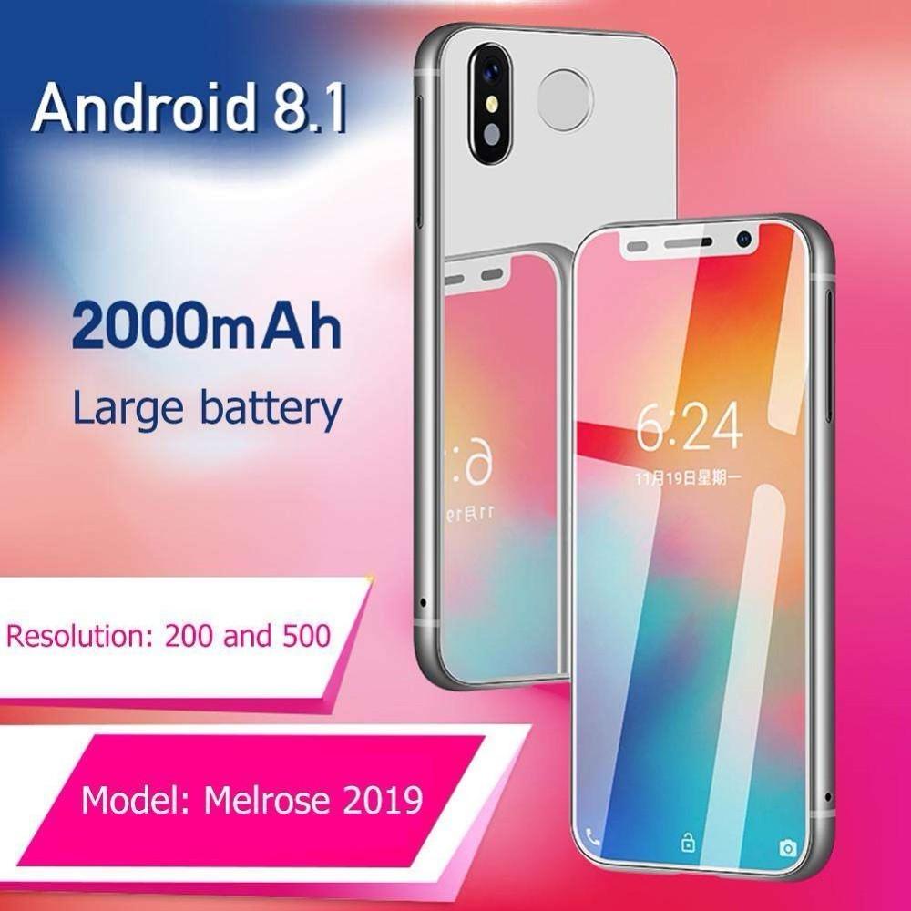 Супер Мини Melrose 2019 4G Lte маленький смартфон 3,4 ''MTK6739 четырехъядерный Android 8,1 отпечаток пальца ID 2000 мАч мобильный телефон - 4