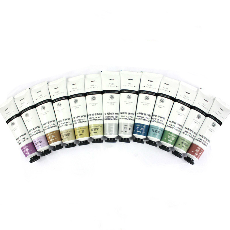 25ml 15 Colors Oil Painting Pigment Art Supplies Coloring Student Paints Drawing Tools Base Paper Canvas