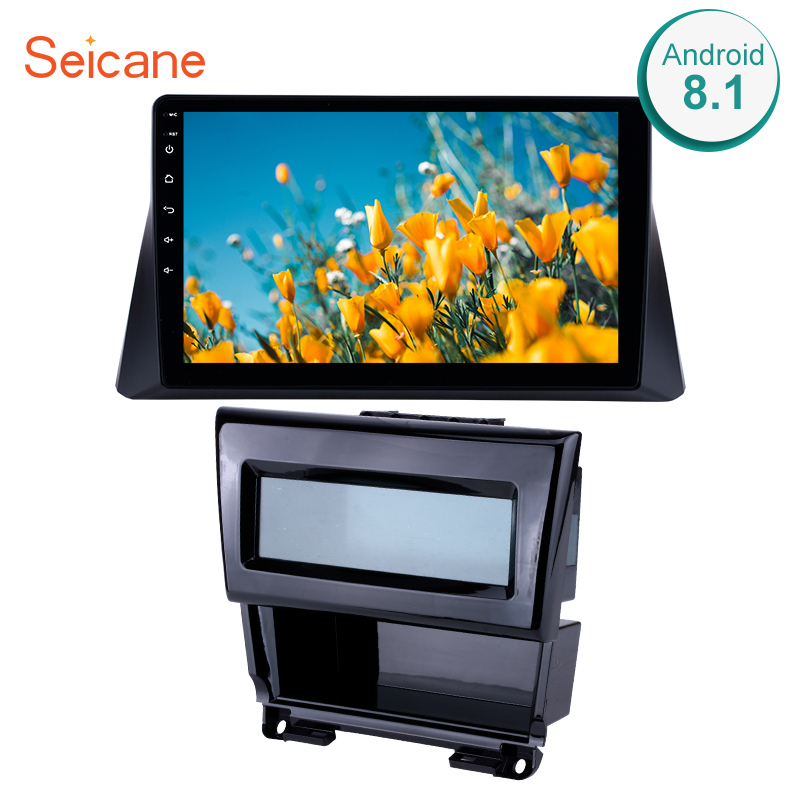 Seicane 10.1 Inch 2Din Android <font><b>8</b></font>.1 Head Unit Car Radio GPS Navi Multimedia Player For 2008 2009 2010 2011 2012 <font><b>Honda</b></font> <font><b>accord</b></font> <font><b>8</b></font> image