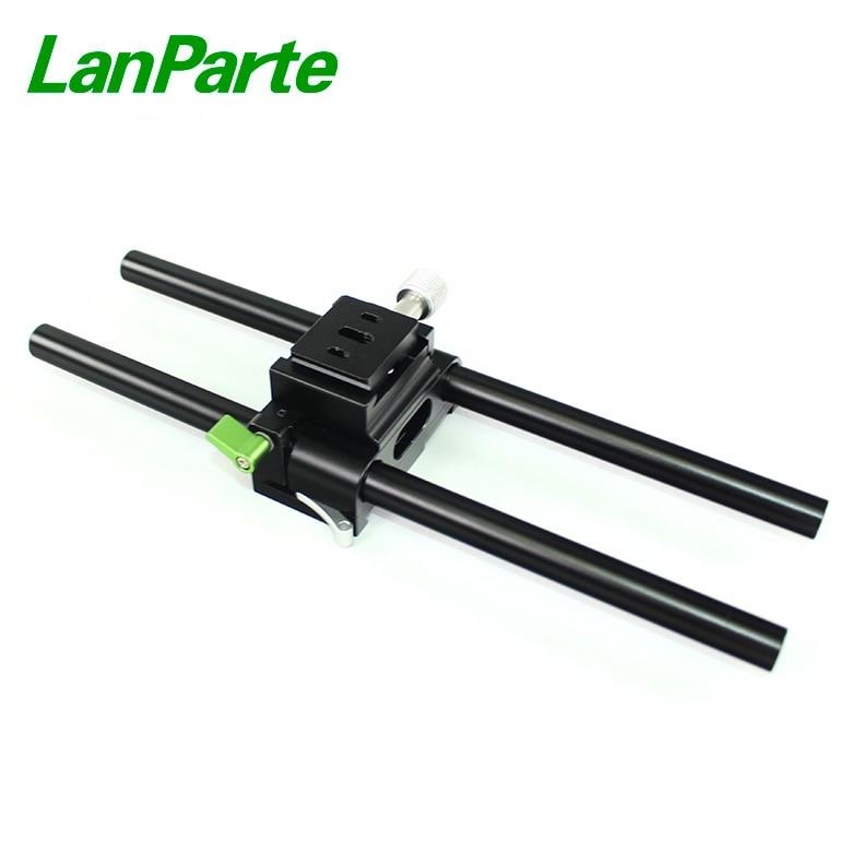 LanParte 15mm Dovetail Baseplate Bridge Plate with Arca Swiss Design for DSLR Camera rigLanParte 15mm Dovetail Baseplate Bridge Plate with Arca Swiss Design for DSLR Camera rig