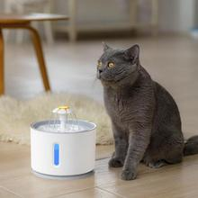 2.4L Automatic Dog Cat Water Fountain Pet USB Electric Pet Drinking Dispenser Filter Bowl Pet Drinker Feeder new 2 5l automatic electric cat dog pet water fountain pet water feeder drink bowl drinker filter cat water dispenser