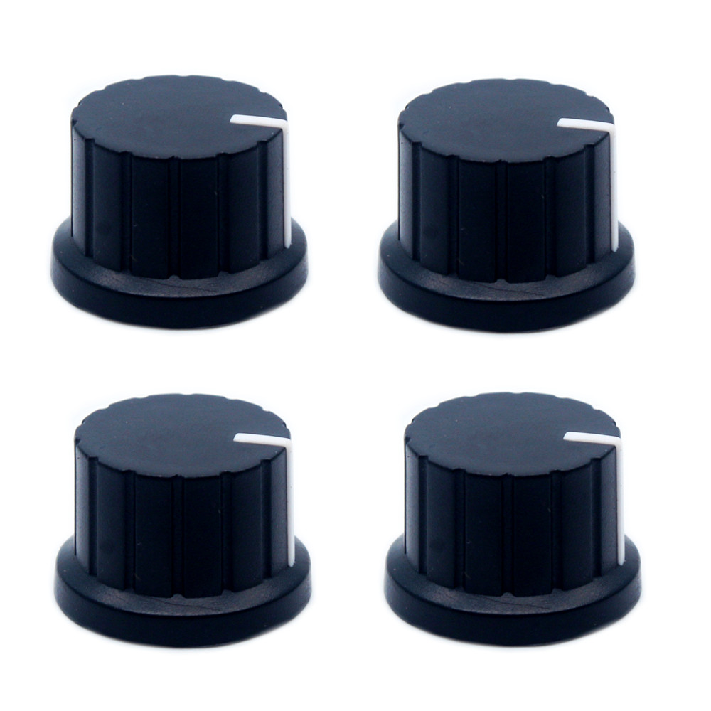 Plastic Knob Potentiometer Knob Audio Knob (Pack Of 4)