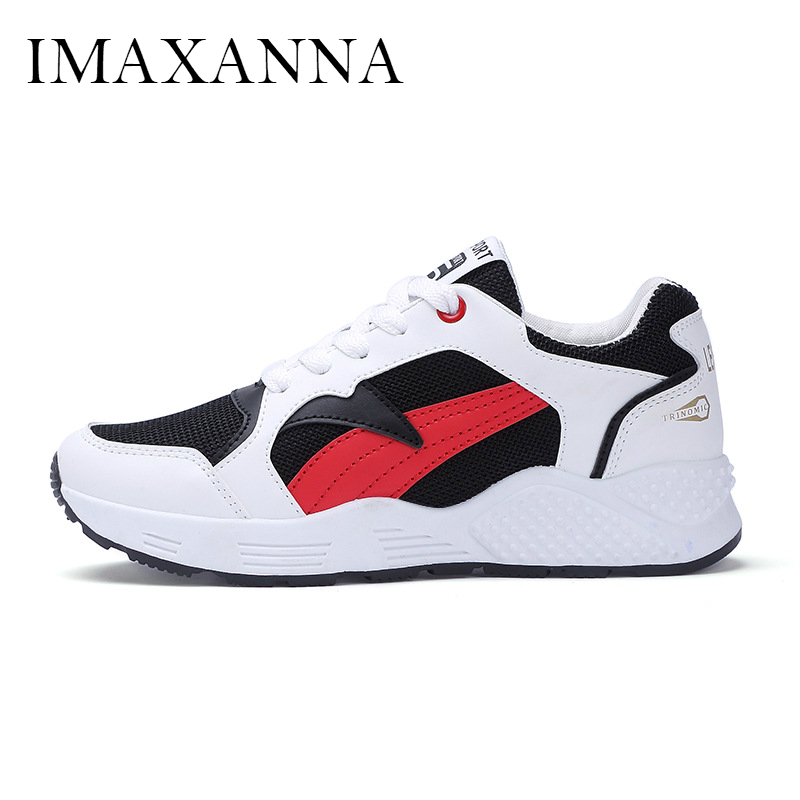 IMAAXANNA New Running Shoes Women Breathble Summer Leisure Mesh Girl Sneaker Shoe 2019 Comfortable Rubber Chunky Athletic FemaleIMAAXANNA New Running Shoes Women Breathble Summer Leisure Mesh Girl Sneaker Shoe 2019 Comfortable Rubber Chunky Athletic Female