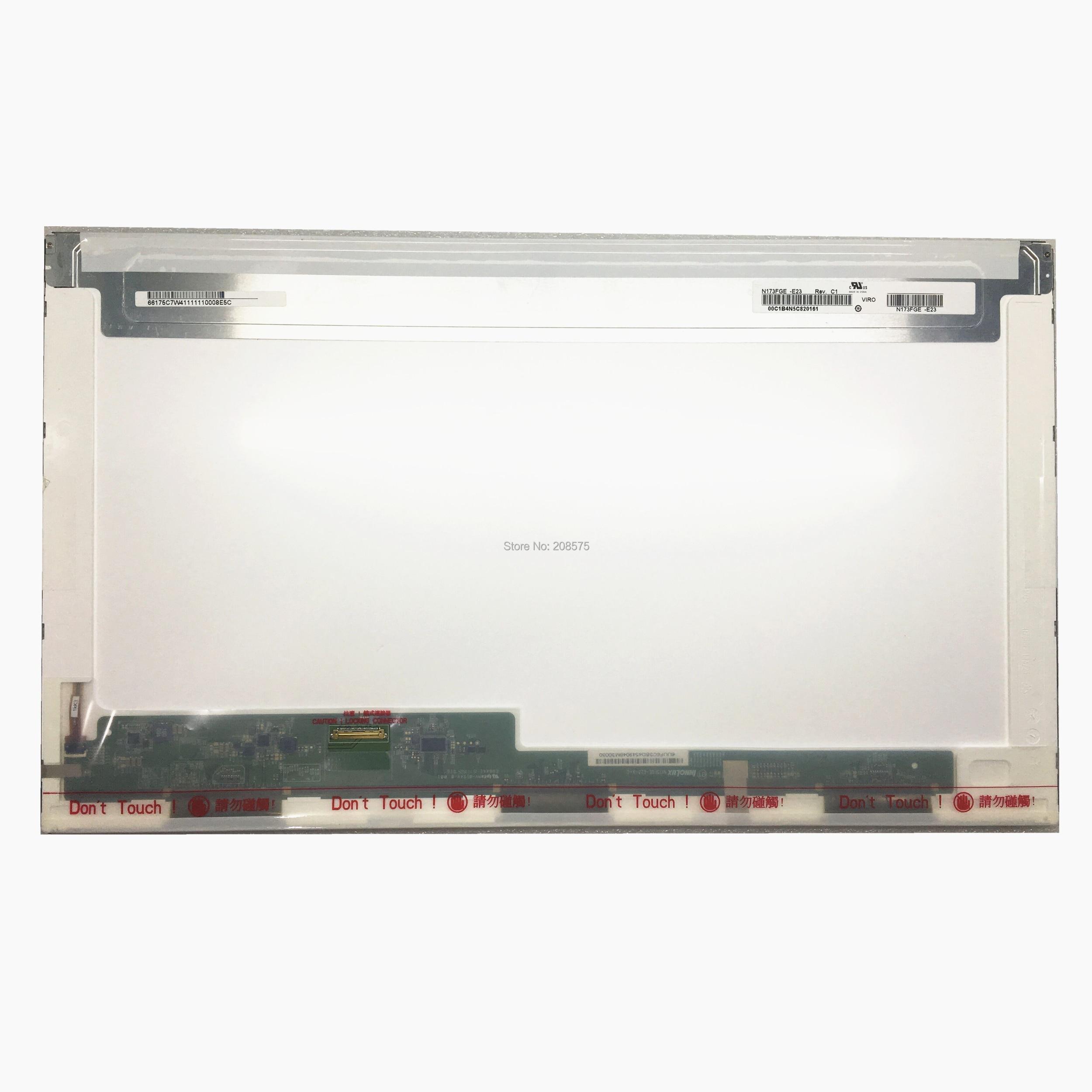Free shipping N173FGE E23 B173RTN01 1 B173RTN01 3 B173RTN01 LP173WD1 TPE1 For Acer V3 772 30
