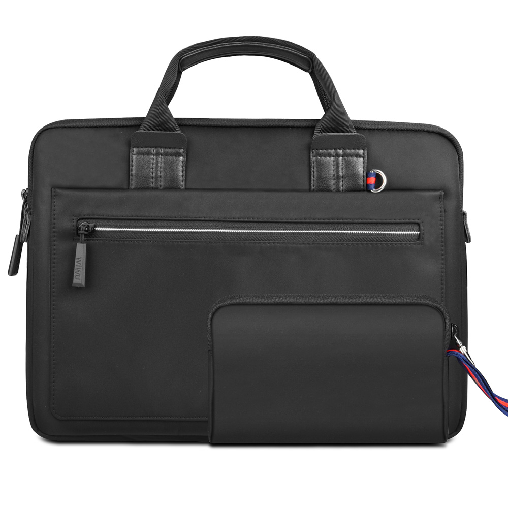 Image 5 - WIWU Laptop Bag Case for MacBook Air 13 Case Pro 13 15 Women Men Pouch Notebook Bag 14 inch Nylon Waterproof Laptop Bag 15.6-in Laptop Bags & Cases from Computer & Office
