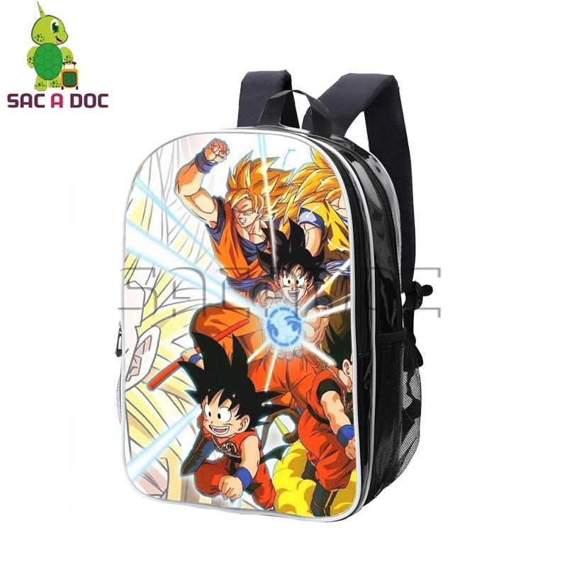 Anime Dragon Ball Z Backpack Super Saiyan Goku Vegata Pu Backpack Women Men Waterproof Travel Bag Boys Girls School BackpackAnime Dragon Ball Z Backpack Super Saiyan Goku Vegata Pu Backpack Women Men Waterproof Travel Bag Boys Girls School Backpack