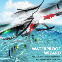 Mejor JJRC H31 Quadcopter impermeable Drone 2,4G 6 ejes giroscopio con Gyro RC helicóptero Helicoptero RC