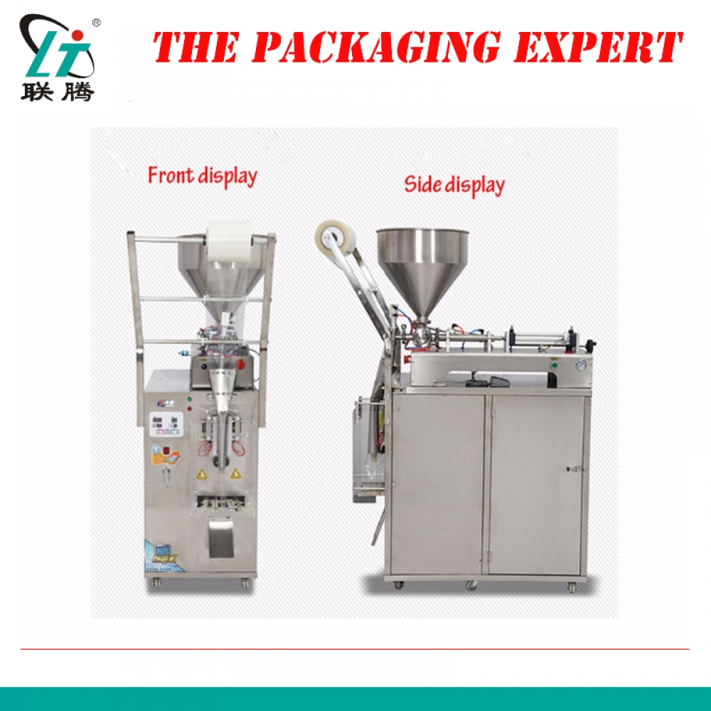 Automatic Condiment Bag Packing Machine Seasoning Sauce Chilli Soy Vinegar Oil Paste Filling And Sealing Machine Free Shipping