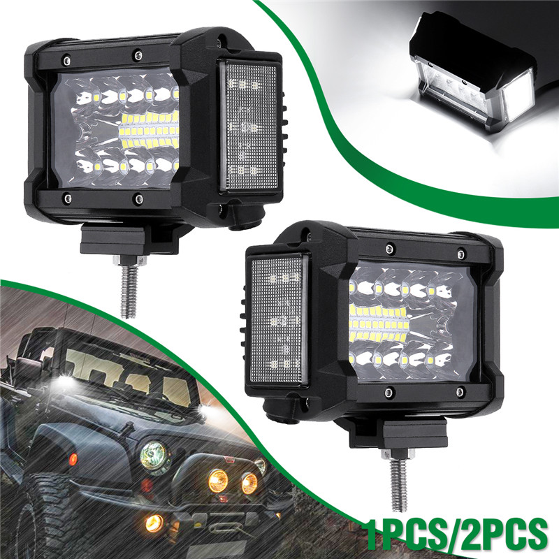 3.5 Inch 108W  LED Work LIght  12V 24V Side Luminous Light Bar Car Offroad Driving Light For 4x4 Trucks Off-road Vehicles