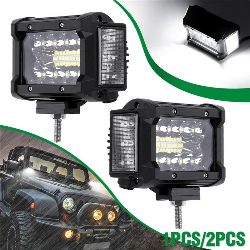 luz led de trabalho 3 5 polegada 108w 12v 24v luz de lateral luminosa para carro