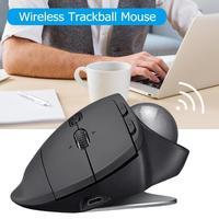 Logitech MX Ergo эргономичная трекбол игровая мышь мульти устройство Беспроводная Bluetooth 512 2048 dpi мышь 2,4 GHz мыши