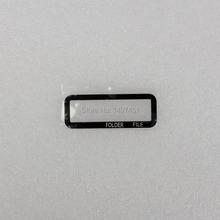 Shoulder small Externe Vitre Outer Glass screen Repair part For Canon EOS 1D X 1DX DS12630 SLR
