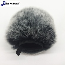 Deat cat Outdoor artifical fur wind muff windscreen shield for ZOOM Q2N  Outside