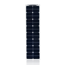 лучшая цена 18V 50W Solar Panel Water Resistant flexible Monocrystalline silicon Solar Cells Module Battery Charger with MC4 Cable Clip