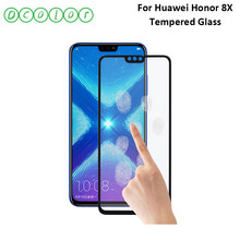 ocolor For Huawei Honor 8X Tempered Glass Screen Protective Film Steel Films Replacement For Huawei Honor View 10 Lite Glass(China)