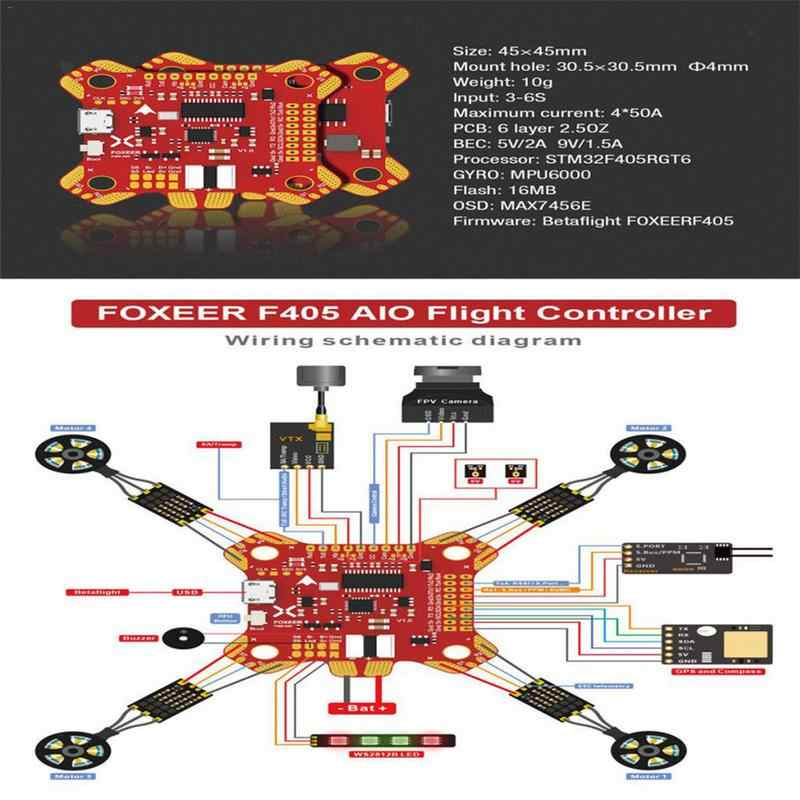 Detail Feedback Questions about Foxeer F405 AIO Flight Controller