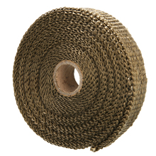 Mayitr 7.5M*2.5CM Car Motorcycle Exhaust Header Heat Wrap Manifold Downpipe Stainless Cable Ties Kit For