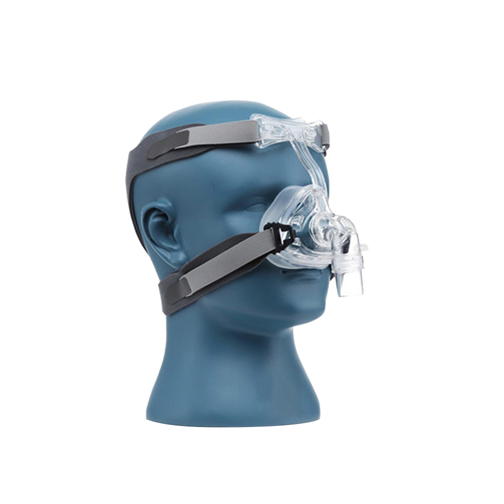 S M L Size CPAP Mask Nasal Mask NM2 With Adjustable Strap Headgear Breathing Masks For