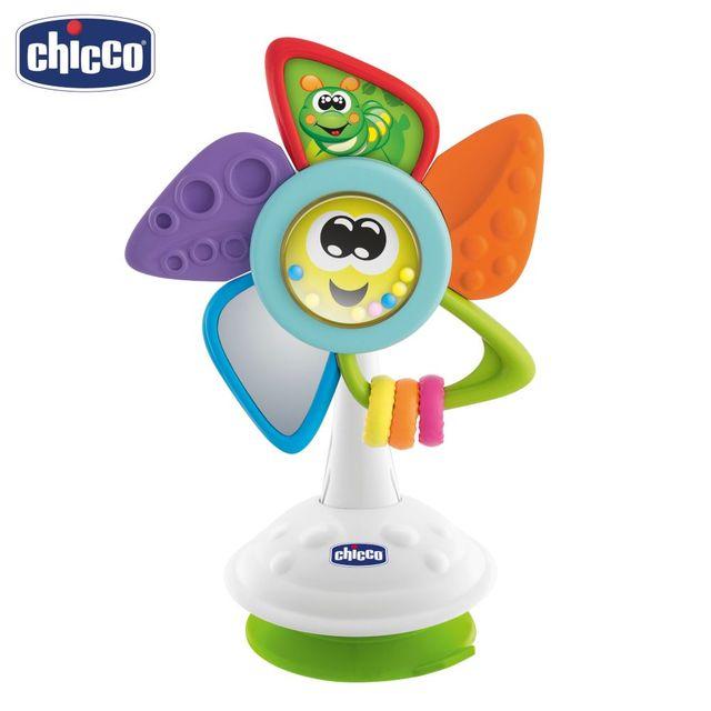 Игрушка развивающая Chicco Will the Pinwheel (на стульчик для кормления) 6м+